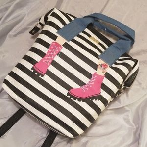 Betsey Johnson Legs Backpack